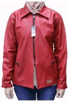 Djavu Em's Jaket SK Woman Merah