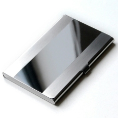 Dompet kartu nama Card Holder Stainless Steel Mirror