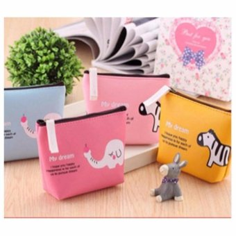 Dompet Koin PU , Cute Coin Bag Pouch , Dompet Koin Character