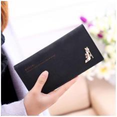 Dompet Wanita Branded Import / Black Botusi Wallet Japan Style(Int: One size )