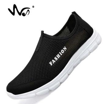DOREMI Sneakers Pria Musim Panas Bernapas Mesh Sepatu Olahraga untuk Pria  Outdoor Super Light Menjalankan Sepatu 42417e1468