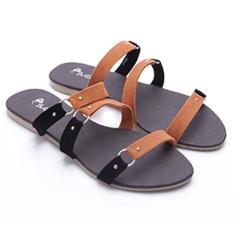 Dr. Kevin Women Flat Sandals 27265 Tan
