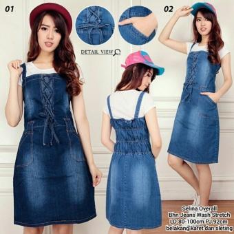 369 Mini Love Dress Putih Price Project Online Source · Dress overall pendek wanita jumbo mini dress Salima biru muda