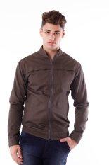 DSC Chest Cut Jacket - Dark Beige