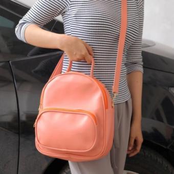 EL PIAZA Ransel 2in1 Pink Salem - Ransel Lucu Tas Ransel Tas Sekolah Anak Tas Berpergian