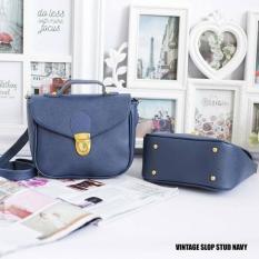 EL PIAZA Sling Bag Gesper Women Clutch Bag - Sling Bag Tas Genggam Tas Slempang Tas