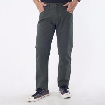 Emba Jeans Celana Panjang Pria BS 08 Jordan Regular - Grey
