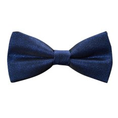 EOZY Fashion Men's Bow Ties Neckwear Adjustable Wedding Party Tuxedo Tie Bowties (Blue)