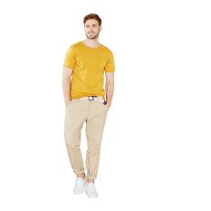 Esprit Vintage Jersey T-Shirt, 100% Cotton - Honey Yellow