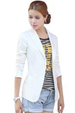 European Style OL Wear To Work Stylish Suit Jacket Coat (White) (Intl)