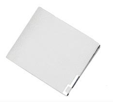 EZY Thin Classic Leather Wallet Men - Light Grey