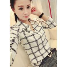 F Fashion Kemeja Wanita Yumi - Putih