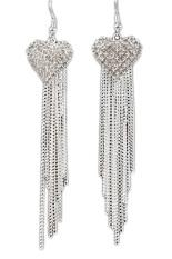 Amefurashi Anting Korea Love Kristal Stud Earring Beauty Best Buy Source · Fancyqube Fashion Women Beautiful