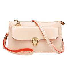 Fashion Ladies Women Handbag PU Shoulder Bag Satchel Messenger Bag Hobo Tote Beige - Intl