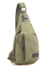 Fashion Men's Canvas Satchel Military Bag Cross Body Handbag Messenger Shoulder Army Green