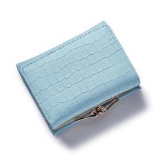 Fashion Stone Women Wallet Small Three Fold PU Leather Coin Walletmini Size Women Purse Brand Designed Female Coin Purse Wallet - Intl