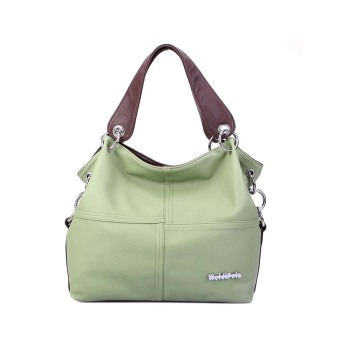Fashion Women Single Shoulder Handbag Crossbody Messenger Bag Green - Intl