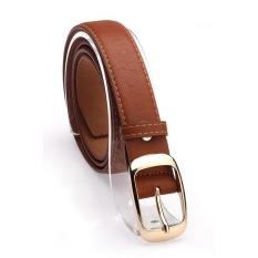 Fashion Women's Faux Leather Metal Belts Girls Fashion Accessories - Intl