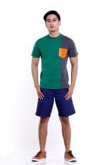 Five Oceans Quart (Green) Men Shirt / Baju Pria