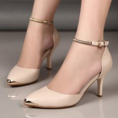 Fuboshoes High Heels Carissa Gelang Cream