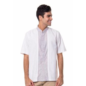 ... Carvil Huston Source · Galvano Baju Koko Stripe S S Abu Abu