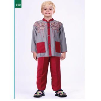 Garsel Fashion Baju Setelan Muslim Anak Laki-Laki FWR 0750 -…