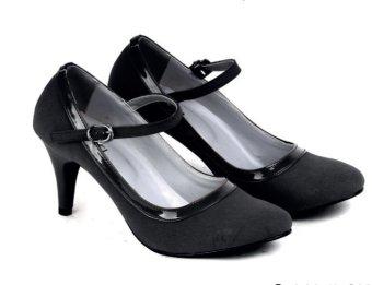 Garucci Sepatu Formal/Pantofel Wanita - Sintetis Gbu 4106 Hitam
