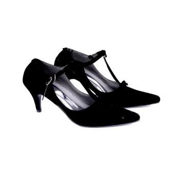 Garucci Sepatu / Sandal High Heels Wanita - Black SH 4196