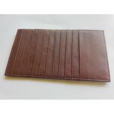 Garuda Card Holder Jumbo Dompet Kartu Nama ATM KTP - Coklat