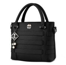 Genevieve 90075 Black - Best Seller Handbags - Tote Bag Cantik