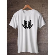 Gildan Jauz EDM White T Shirt