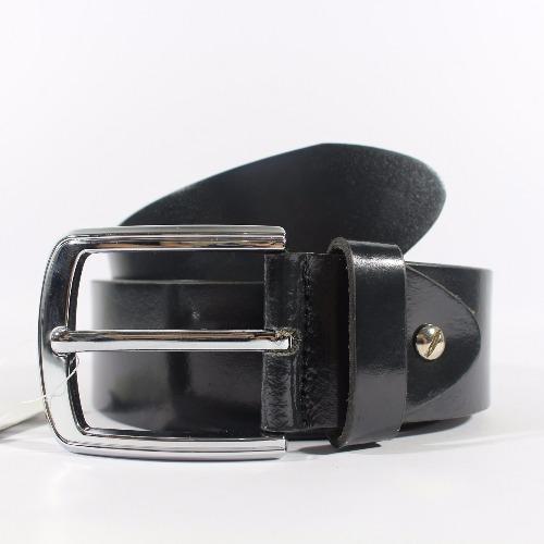 Giorgio Agnelli - Ikat Pinggang Kulit - Hitam - Kulit Asli -Giorgio Agnelli 818 Black