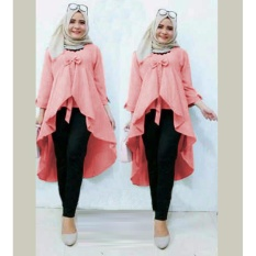 Leony Blouse Tosca By Oriana Boutique Updated Price List Source · Grateful Tunik Olga Baby Pink