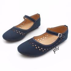 Gratica Sepatu Flat Shoes AW65 - Navy
