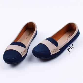 Gratica Sepatu Flat Shoes DS20 - Navy