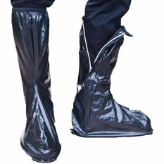 GRC Jas Hujan Sepatu Hitam