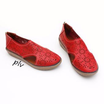 Grivera Sepatu Wanita Flat Shoes Laser MY22 - Merah