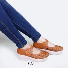 Grivera Sepatu Wanita Wedges Laser SA52 - Tan