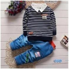 GSD-Baju Setelan Anak Cowo-St Aberto Denim