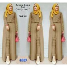 GSD - Setelan Baju dan Celana Muslim Wanita- Set Xaxa Coksu