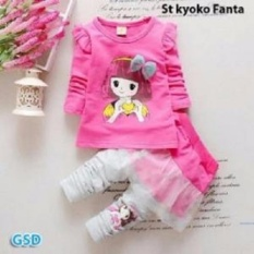 GSD-Setelan Baju Anak Cewe-St Kyoko Fanta