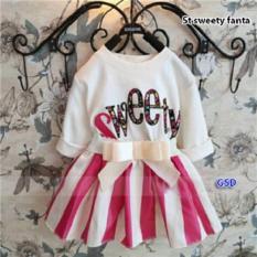 GSD-Setelan Baju Rok Mini Anak Cewe-St Sweety Fanta Kids