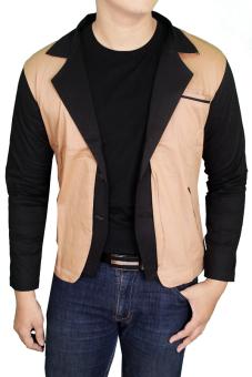 Gudang Fashion Baju Blazer Pria Krem Lazada Indonesia