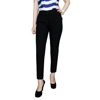 Gudang Fashion - Celana Bahan Wanita Untuk Kerja - Hitam