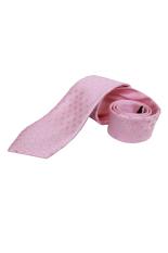 Gudang Fashion - Dasi Pink Bahan Katun Panjang - Pink