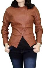 Gudang Fashion - Jaket Wanita Fashion - Coklat