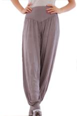 Hang-Qiao Harem Pants (Dark Grey)