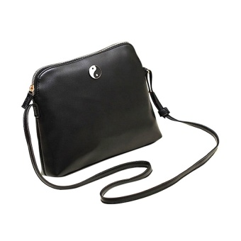 Happycat Korean Women Lady Candy Cute Handbag PU Leather Messenger Shoulder Bag _B - Intl