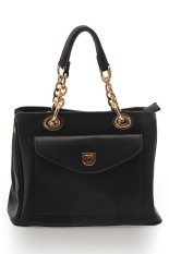 Harlow Blair Top-Handle Bag - Hitam