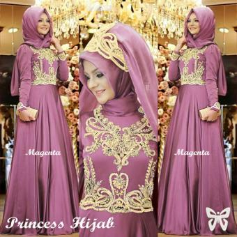 Hasanah Maxi Princess - Dusty - Gamis